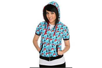 Hell Bunny Mushroom Short Sleeve hoodie from Hot Topic, $34