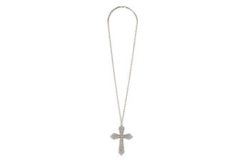 Cross necklace from Forever21.com, $5.80