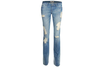 Distressed skinny jeans from Garage Clothing, $39