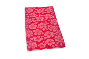 Hibiscus beach towel from Bed Bath