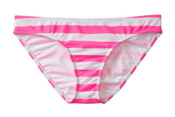 Pink striped tankini bottom from OldNavy.com, $16.50