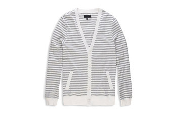 Heather stripe cardigan from www.Forever21.com, $19.90