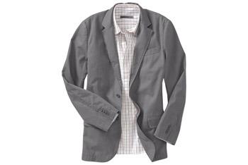 Twill blazer from www.OldNavy.com, $36