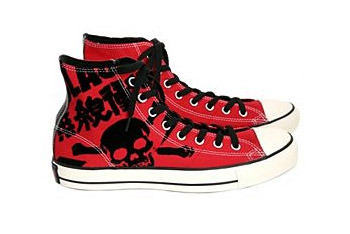 Converse All Star The Clash high tops from Hot Topic, $59.99