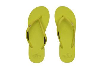 Flip flops from Hollister, $9