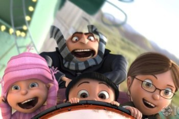 Gru and the girls