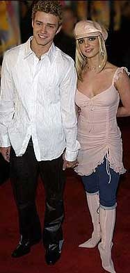 Justin Timberlake and Britney Spears lack style in this pic.
