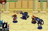 Kingdom Hearts: Chain of Memories Disney and Final Fantasy video game for the Nintendo Gameboy Advance!