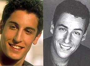 What do you think? Are Jason Biggs & Adam Sandler a match?