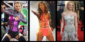 Who was the worst dressed of the American Music Awards - Ashanti or Britney Spears?