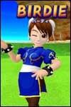Play golf as Chun-Li in We Love Golf for Nintendo Wii!