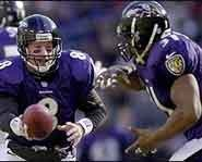 The Baltimore Ravens won the Super Bowl in 2001.