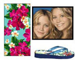 Mary-Kate and Ashley Olsen have their own line of swimsuits for you to check out.