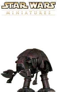 This X-1 Viper Droid fig is a monster battle droid from the Star Wars Dark Empire comic books.