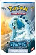 The Silvery Ocean theme deck from the Pokemon TCG: EX Unseen Forces set.