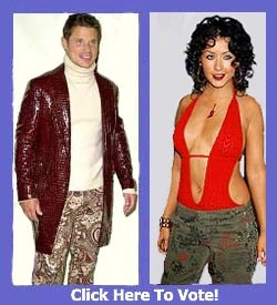 Which of these stars deserves the fashion ticket - Christina Aguilera or Nick Lachey?