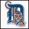 Logo of the Detroit Tigers.