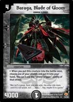 This Duel Masters Trading Card Game card is a sneak-peek preview from the Rampage of the Super Warriors expansion set!
