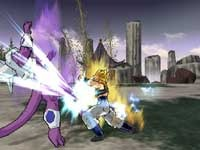 Knock Frieza into next week with powerful attacks in DBZ: Budokai 3 for the Playstation 2 video game console.