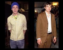 Justin Timberlake and Ashton Kutcher showed the world how to turn heads with a nice pair of pants in 2003.