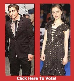 Which of these stars is the best dressed of Spring 2003 - Anna Paquin or Jake Gyllenhaal?