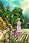 Join the Shipwrecked Rosella in the Barbie as the Island Princess game for DS, GBA, PC, PS2 and Wii!