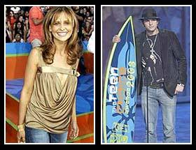 Ashton Kutcher and Sarah Michelle Gellar were out in full fashion-conscious force for the 2003 Teen Choice Awards.