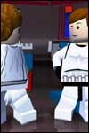 The upcoming LEGO Star Wars II video game is bringing 110 Star Wars characters to the Gameboy Advance, Gamecube, Nintendo DS, PC, Playstation 2, PSP, and Xbox.