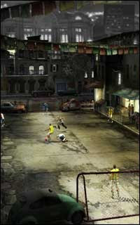 This FIFA Street preview pic from EA shows you the upcoming soccer game.