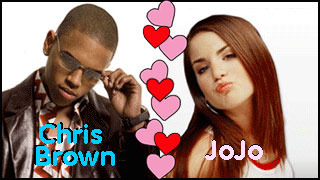 Chris Brown and JoJo would be too cute together!