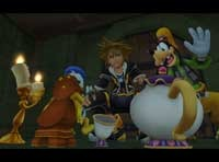 Kingdom Hearts 2 Disney and Final Fantasy video game for the Sony Playstation 2!