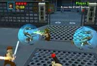 The LEGO Star Wars video game for the Playstation 2, Xbox, PC and Gameboy Advance is coming in April, 2005!