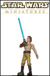 The Star Wars Miniatures: Clone Wars set brings characters from the Star Wars: Clone Wars movie and cartoon to life!