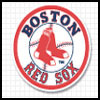 Logo of the Boston Red Sox.