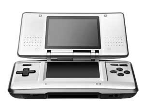 The Nintendo DS handheld video game console has 120 video games lined up!