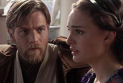 Natalie Portman and Ewan McGregor star in Star Wars Episode III: Revenge of the Sith.