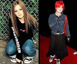 Avril Lavigne and Kelly Osbourne won our hearts in 2002 with their no-nonsense fashion sense.