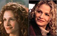 Could Julia Roberts and Kyra Sedgwick be celebrity twins?  Were they separated at birth?