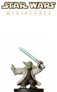 This fig of Yoda, Jedi Master is a sneak peek from the Star Wars Miniatures Revenge of the Sith expansion set, based on the Star Wars Episode III movie!