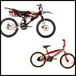 X Games BMX Bikes.