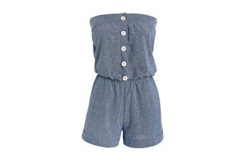 Evie chambray romper from Delias.com, $39.50