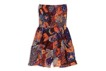 Mixed floral romper from Forever21.com, $19.90
