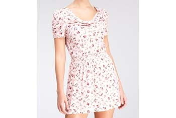 Sugar and Spice pink floral dress from FredFlare.com, $44