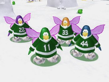 Club Penguin Game Day Funny Items