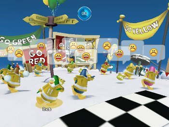 Club Penguin Game Day Dance
