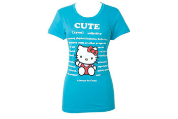 Hello Kitty tshirt from Alloy.com, $25