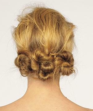 Triple knot buns