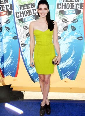 Emma Roberts goes fashion forward