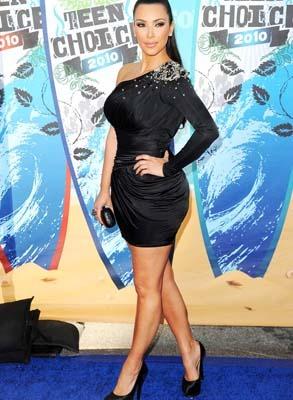 Kim Kardashian looks a bit outdated