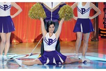 Katy Perry hosting the Teen Choice Awards 2010